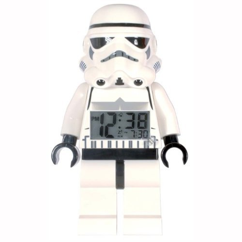 LEGO Kids' 9002137 Star Wars Storm Trooper Mini-Figure Alarm Clock Home improvement / accessories