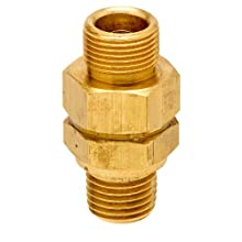 Control Devices Brass Load Genie Unloading Check Valve, 3/4&#034; Tube Comp. x NPT Male