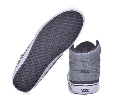 a2a14a88ffb3 pictures of Vans Sanction Textile Canvas Classic Mid Top Shoes
