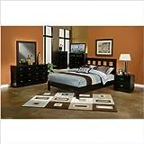 Eastern King Bedroom Set in Dark Espresso