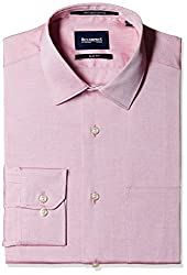 Blackberrys Men's Formal Shirt (8907196377485_NSSIGNDREAN13BPQ_42_Red)