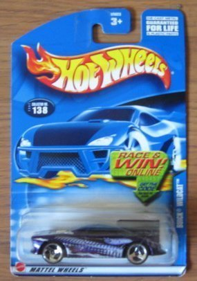 Hot Wheels 2002 Buick Wildcat 138 PURPLE Mainline 1:64 Scale - 1