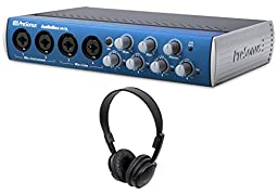 Package: Presonus AUDIOBOX 44VSL Advanced 4 IN x 4 OUT USB 2.0 and Midi Interface Recording System + Audio Technica ATH-M2X open-back dynamic headphone
