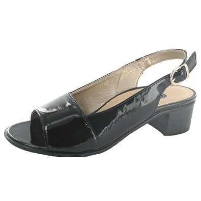 REMONTE R495201 femmes Sandales, noir 36 EU