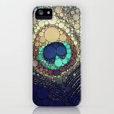 Society6/ソサエティシックス iphone5ケース  Peacock_Feather