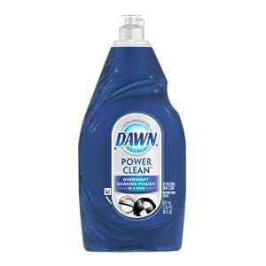 Dawn Ultra Power Clean Refreshing Rain Scent Dishwashing Liquid, 19-Fluid Ounce (Pack of 2)