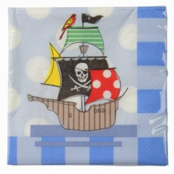 Pirate Party Paper Napkins