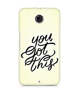 AMEZ you got this Back Cover For Motorola Nexus 6