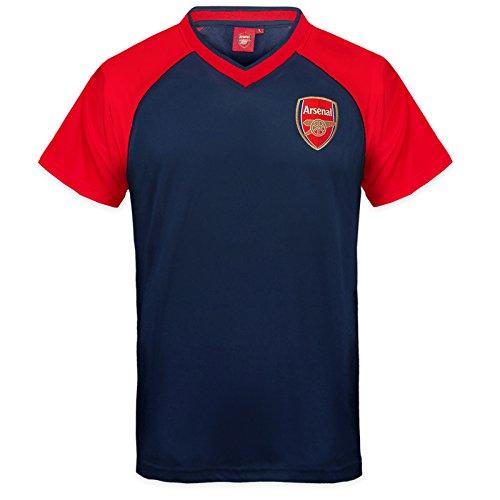 arsenal-fc-official-gift-boys-poly-training-kit-t-shirt-navy-v-neck-8-9-yrs-mb