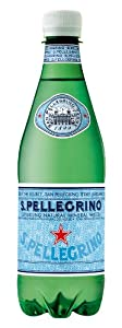 San Pellegrino Sparkling Natural Mineral Water, 16.9-ounce plastic bottles (Pack of 24)