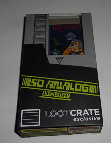 10-Doh! So Analog - Loot Crate - Exclusive Drx. Who Video Game Cartridge Vinyl Figure