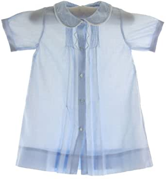 Newborn Boys Blue Take Home Day Gown Feltman Brothers