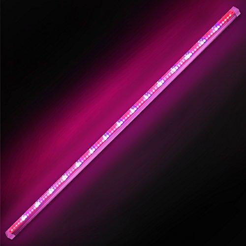 T8 Grow Light Fixture: Purple Reign® 4' Foot 20W Watt LED T8 Grow Light System