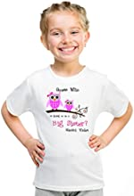 Personalized Big Sister Owls in Branch Kids shirt D Jammar