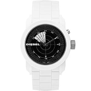 Diesel Herren-Armbanduhr XL Analog Quarz Silikon DZ1606