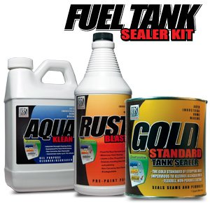 KBS Fuel Tank Sealer Kit - Seals Up To 25 Gallon Tank