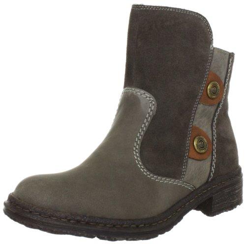 Rieker 74260-27 Ankle Boots Womens Gray Grau (tabacco/nubia/muskat 27) Size: 5 (38 EU)
