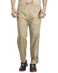Gumber Beige Solid Pyjamas (GE_CTN_PJA_LBRN_1PC)