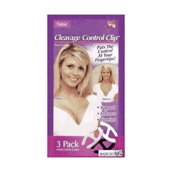 Cleavage Control Clip (Pack of 3) from Cleavage Control Clip