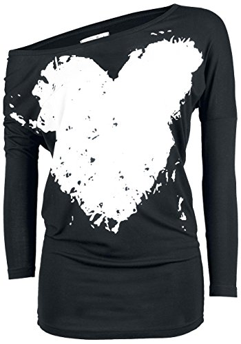 Innocent Heart Manica lunga donna nero XL
