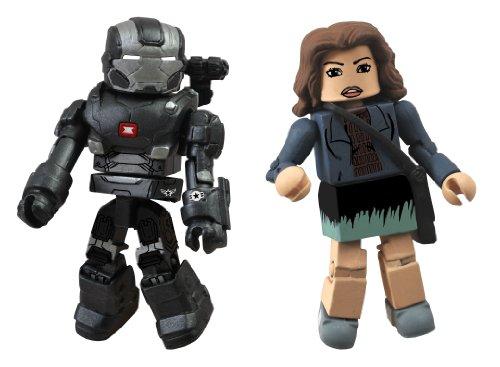Diamond Select Toys Series 49 Marvel Minimates Iron Man 3: War Machine and Maya Hansen Action Figure - 1