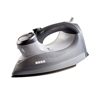 Usha Techne 2000 2400-Watt Steam Iron (White/Grey)