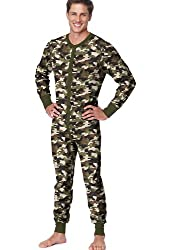 Hanes Men's X-Temp Thermal Union Suit - Extended Sizes