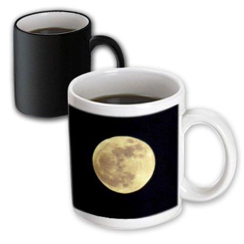 3Drose Full Moon Rising-Astronomy-Photography, Magic Transforming Mug, 11-Ounce