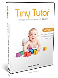 Baby DVD Set - 4 Educational Videos Teach Kids Letters, Numbers, Shapes & Colors - Early Language Learning for 1, 2, & 3 Year Old Preschool Children - Prep Your Einstein