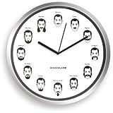 "Kikkerland The Gentlemen's Wall Clock, 8"""