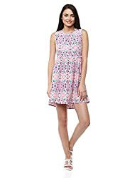 Prym Women's Easy Day Dress (1011507001_Multi Color_Large)