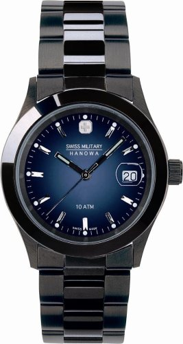 [スイスミリタリー]SWISS MILITARY 腕時計 エレガントブラック ML-186 メンズ [正規輸入品]
