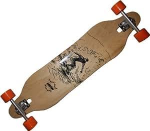Koston Longboard Canadian Maple Complete descenso caer consejo surfistas de madera 41 x 9,5 x 30.25WB - Longboard