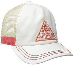 Roxy Junior's Go Live Trucker Hat, Sea Spray, One Size
