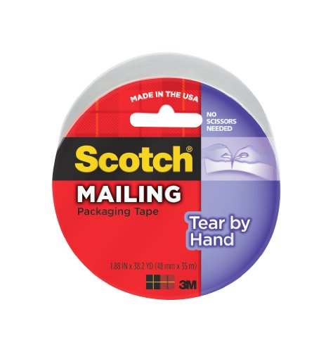 Great Features Of Scotch(R) Tear-By-Hand Tape 3842, 1.88 in x 38.2 yd (48mm x 35m) [PRICE is per ROL...