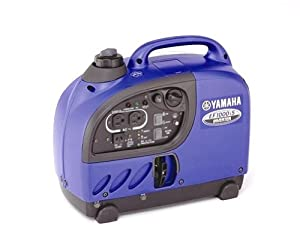 Yamaha EF1000iS 1,000 Watt 50cc OHV 4-Stroke Gas Powered Portable Inverter Generator (CARB Compliant) by Yamaha