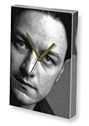 JAMES McAVOY - Canvas Clock (A5 - Signed by the Artist) #js003