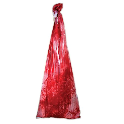 Bloody Body in Bag - Life Size Inflatable Prop (Killer Prop)