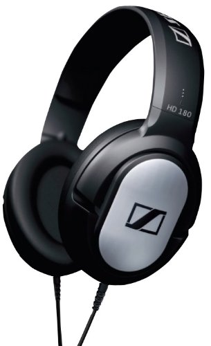 Sennheiser HD 180 Over-Ear Headphone (Black)