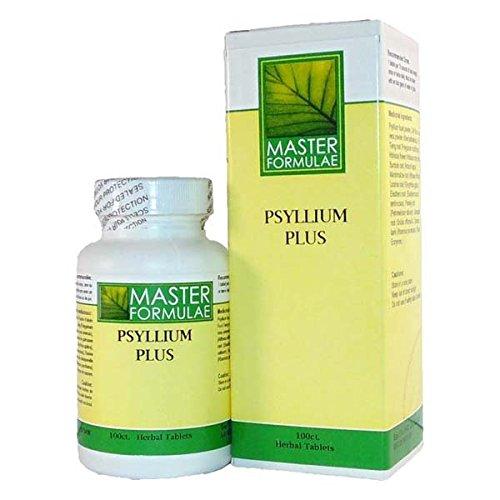 Psyllium Plus Tablets (Lymph & Colon Cleanse Detoxification) - 100 Count Herbal