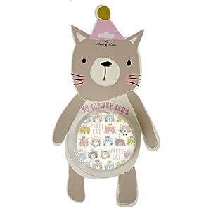 Cat Cupcake Liner Pack By Meri Meri 48 Pieces