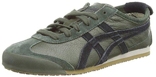 Onistuka Tiger - Mexico 66 Vin, Sneakers Basse da unisex - adulto, colore verde (duffel bag/black 7990), taglia 46