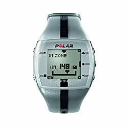 Polar FT4 Heart Rate Monitor (Silver/ Black)