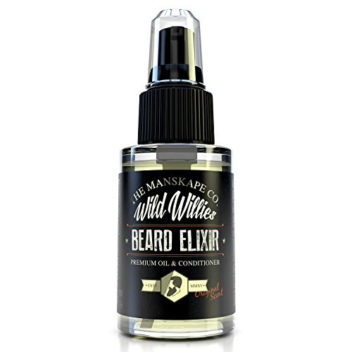 Wild-Willies-1-Ounce-Beard-Elixir-This-Amazing-Beard-Oil-is-Made-Of-10-Natural-Organic-Nutrient-Rich-Essential-Oils-That-Condition-and-Treat-Each-and-Every-Follicle-Down-To-Their-Roots-Each-Batch-Is-H
