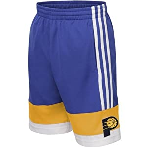 NBA Indiana Pacers Youth Originals A-Court Basketball Shorts Blue by adidas