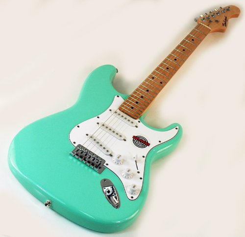 best price new quality strat style seafoam green electric guitar on sale guitars. Black Bedroom Furniture Sets. Home Design Ideas