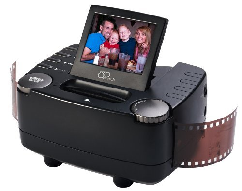 DB-Tech 35mm Film Slide and Negative Scanner - Film to Digital Image Converter - with 2.4-Inch LCD and TV-Out