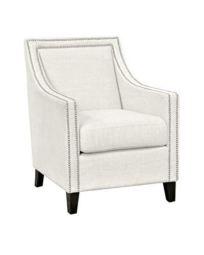 Tottenham Court Deshi Club Chair, Ivory