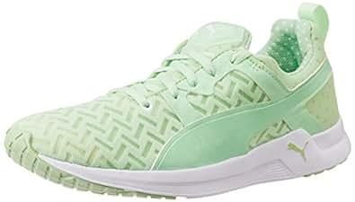 Puma Women's Pulse XT PWRCOOL Wn s Patina Green Mesh Running Shoes - 3 UK/India (35.5 EU)
