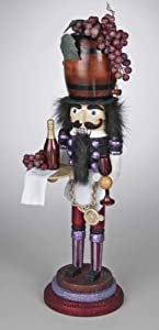 Christmas Decoration - Wine Tasting Nutcracker - Vineyard Nutcracker - Wine Nutcracker